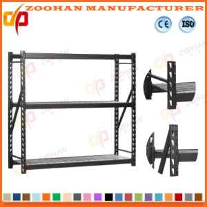 Good Quality Metal Middle Duty Warehouse Shelf Rack (ZHr368) pictures & photos