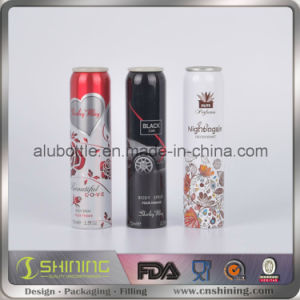 Aluminium Empty Aerosol Packing Cans with Body Spray pictures & photos