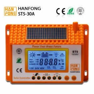 30A Solar Power Controller with LCD Display and USB (ST5-30) pictures & photos