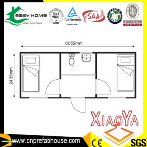 Prefabricated Container Living Home with Two Bedrooms pictures & photos