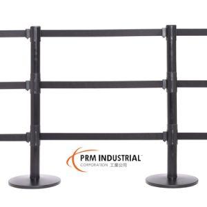 Queuepro 250 Triple Belt Maximum Pedestrian Control Retractable Belt Barrier pictures & photos