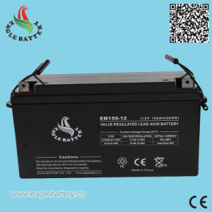 12V 150ah Storage Lead Acid Battery for Solar