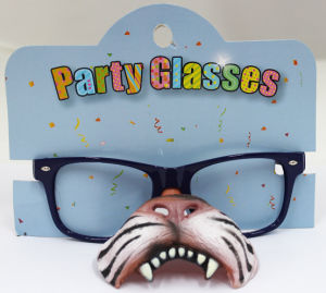 Party Glasses with Tiger Mouth