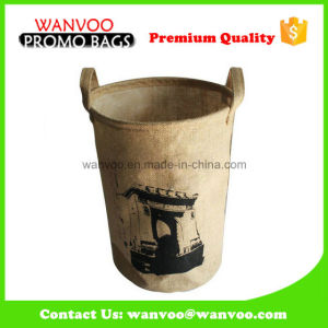 Promotion Gunny Planting Grow Bag with Black Customized Printed pictures & photos
