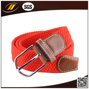Newest Colorful Leather Elastic Strech Belt for Jeans