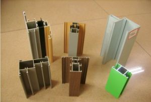 Weight of Aluminium Section for Window and Doors pictures & photos