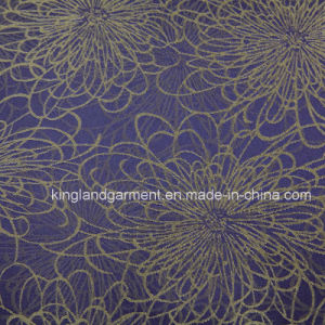 Polyester Quality Jacquard Flower/Bloom Design Wide Width Table Cloth pictures & photos