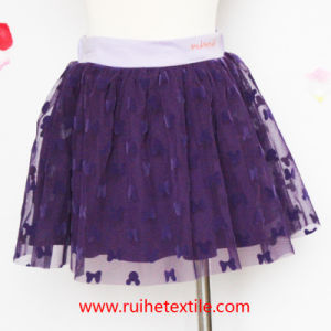 Colorful Embroidery Skirt for Girl′s