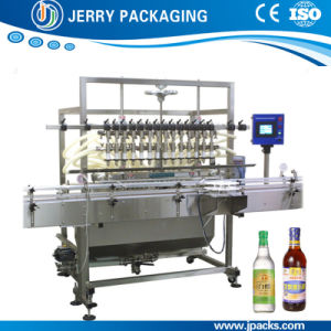 Automatic Food Wine Alcohol Juice Bottle Bottling Filling Machine pictures & photos