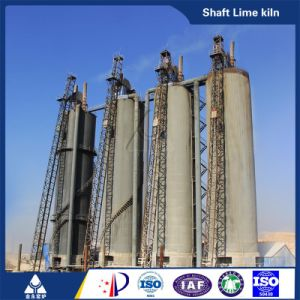 China Designed Vertical Shaft Lime Kiln pictures & photos