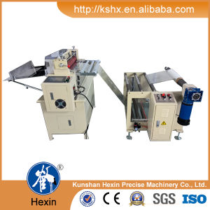 Automatic Art Paper Cutting Machine with Unwinding System pictures & photos
