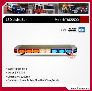 Wide Square Emergency Warning Light Bar (TBD5500) pictures & photos
