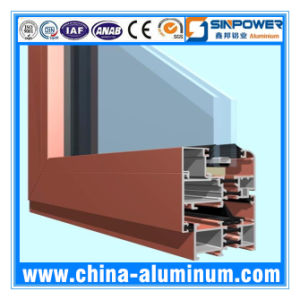 Aluminum Factory for Cabinet Glass Door Profile