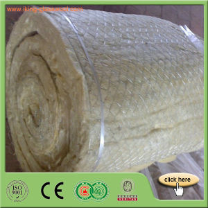 Rock Mineral Wool Blanket Insulation with Wire Mesh pictures & photos