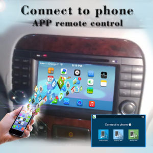 Carplay Anti-Glare Android 7.1 GPS Navigation Tracker for Mercedes Benz S-Class Car DVD Player Tracking Device pictures & photos