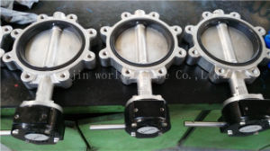 SUS304 SUS316 Stainless Steel Lug Type Butterfly Valve (CBF02-TL01) pictures & photos