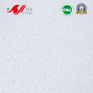 White Needle Punched Polyester Non Woven Fabric for Shoe Part