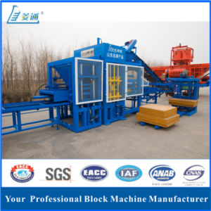 Auto Brick Block Moulding Machine with CE SGS Certificate