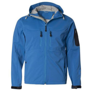 Men High Performance Hooded Waterproof Softshell Jacket pictures & photos