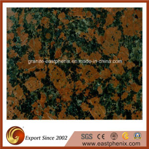 Imported Maple Red Granite Polished Stone Tile for Swimming Pool pictures & photos