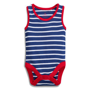 High Quality Striped Sleeveless Cute Baby Suit pictures & photos