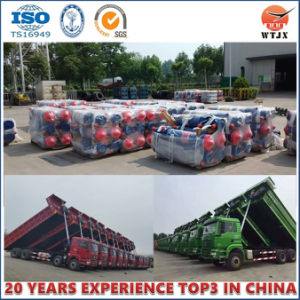 Tipping Hydraulic Cylinder for Dump Truck Cylinder pictures & photos