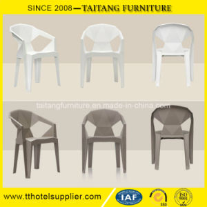 Stacking Plastic Chair Modern Chair with Arms pictures & photos