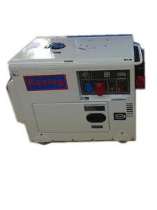 Guangzhou 6.5kVA Air Cooling 3 Phase Portabel Diesel Silent Generator