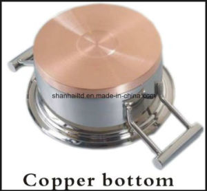 Kitchenware 12PCS Copper Base Cookware Set Impact Bottom Cookware pictures & photos