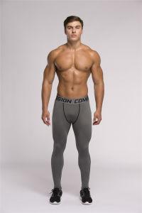 Men′s Tight Professional Sport Pants (SP16024)
