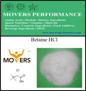 Hot Selling Nutrition Supplement Betaine HCl pictures & photos