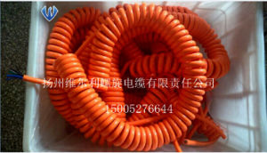 New Energy Electric Vehicle (EV) Charging Spiral Cable