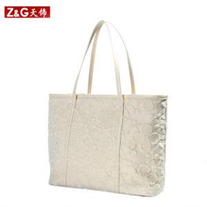 Lace PU Product Women Handbag (LDB-008) pictures & photos