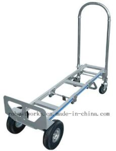 Multi Purpose Foldable Aluminium Hand Trolley (HT143A-1) pictures & photos