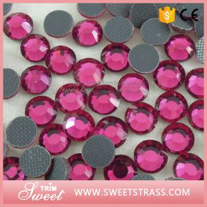 Hyacinth DMC Shining Quality Iron on Jewelry Stone pictures & photos