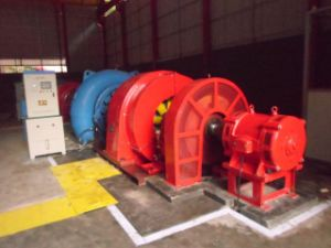 Hydro (Water) Francis Turbine-Generator 1~5MW/ Hydroturbine pictures & photos