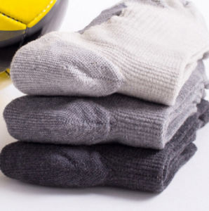 Professional Climbing Silver Fiber Cotton Socks for Men pictures & photos