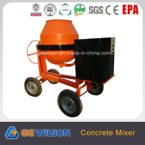 Gasoline Cement Mixer Use in Construction Industry pictures & photos