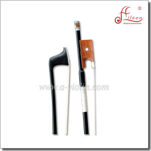 Oxhorn Bone or Snakewood Frog Violin Carbon Fiber Bow (WV970C) pictures & photos