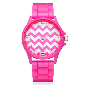 2016 New Fashion Colorful Silicone Wristband Jelly Watch pictures & photos