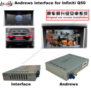 Hot Sale for Infiniti Q50 Multimedia Android Car Video Interface with GPS Navigation pictures & photos