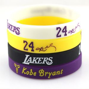 Custom Logo Printed Promotional Silicone Rubber Wristbands pictures & photos