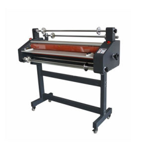 Hot and Cold Roll Laminating Machine 41inch 1050mm (FM-1100) pictures & photos