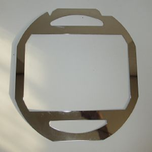 Sheet Metal Laser Cut/Aluminum Cut/Custom Engraved Logo Metal Plate pictures & photos