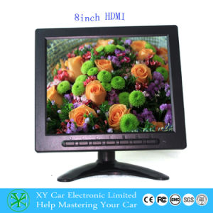 8inch Car TFT LCD Monitor, Bus TV Monitor for Rear View with HDMI Input