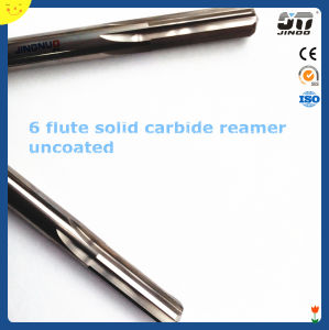 6 Flute Straight Shank Tungsten Solid Carbide Reamer Router Bits pictures & photos