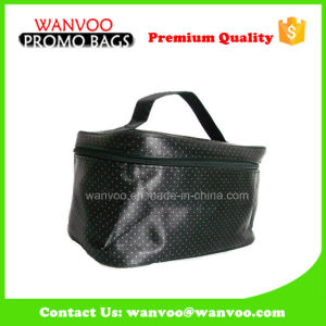Fashion Small Barrel Mirror Cosmetic Bag for Wholesale pictures & photos