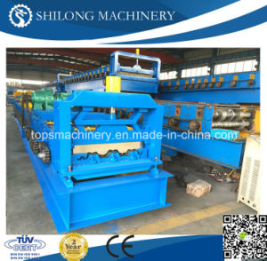 CE Approved Galvanized Steel Sheet Floor Deck Roll Forming Machine pictures & photos
