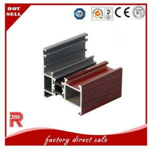 Aluminium/Aluminum Extrusion Profile for Window and Door Wooden Grain pictures & photos