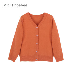 Phoebee Knitted Children Apparel Baby Clothes pictures & photos
